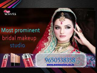 Most prominent bridal makeup studio in noida that offers the best makeup services that enhance your beauty charm.Dial 9