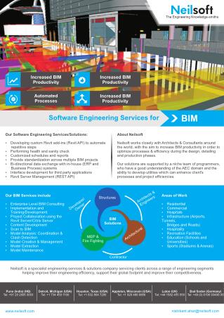 Software Engineering Services for BIM