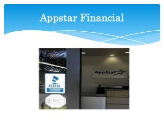 Appstar Financial - Financial Service Provider