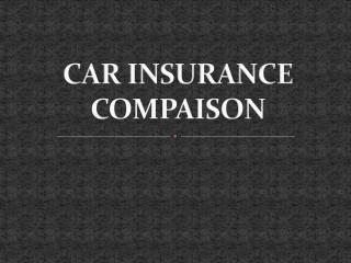Need A Car Insurance Comparison? Don't Have Time?