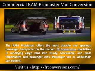 Handicap vehicles for sale - Fr Conversions