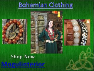 Bohemian clothing by mogulinterior