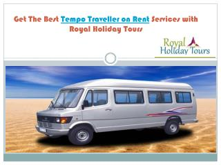 Tempo Traveller in Delhi for Hire/Rent