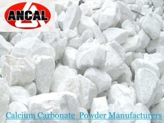 Calcium Carbonate Powder Manufacturer