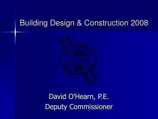 Building Design  Construction 2008
