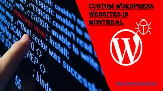 Custom WordPress Websites in Montreal