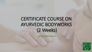 Ayurveda massage videos | AyurvedaSchool