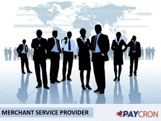 Get Secure Merchant Account Service Providers - Paycron