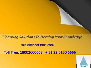 Elearning Solutions To Develop Your Knowledge