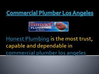 Plumbing Contractors Los Angeles