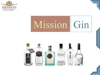 Mission Gin - Mission Wine And Spirits