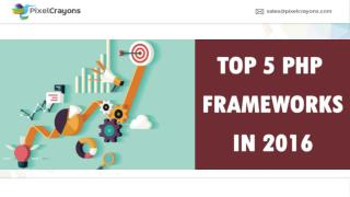 PHP Frameworks : Most Used PHP Frameworks In 2016