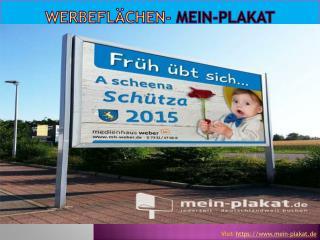 Werbefl�chen - Mein-Plakat