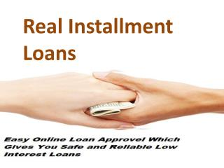 Installment Cash Loans Online In Unexpected Financial Emergency!