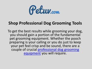 Shop Professional Dog Grooming Tools