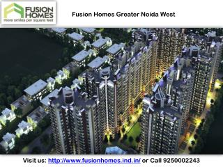 Fusion Homes Greater Noida West