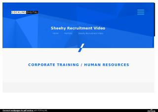 Sheehy Recruitment Video | DC Video Production