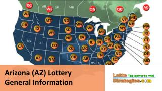 Arizona Lottery, AZ Lotto Information, Contact, Drawing Schedule, Website