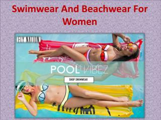 Swimwear And Beachwear For Women