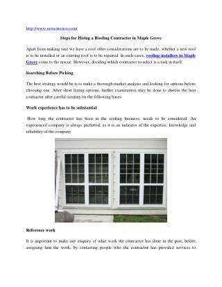 Home Window Installer Minneapolis