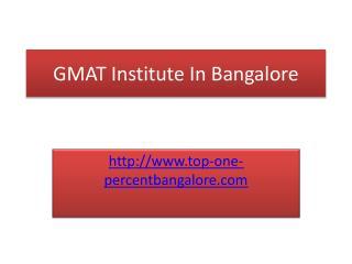 GMAT Coaching in Bangalore