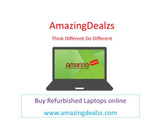 Refurbished Laptop and desktop - Buy Refurbished for all Brand in india