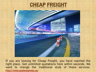 Freight Produce