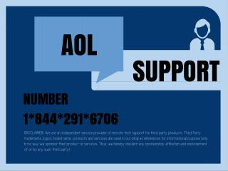 America Online 1 844 291 6706 AOL EMAIL customer Support Phone Number Helpline junk email