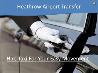 Heathrow Airport Transfer