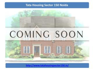 Tata Housing Sector 150 Noida Tata Housing | 9066021610