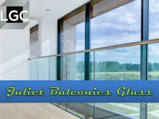 juliet balconies glass