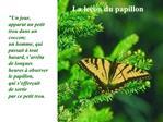 La le on du papillon