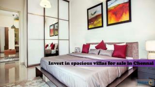 Amazing villas in Chennai