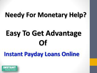 Instant Payday Loans - Flexible Funding Your Till Payday!