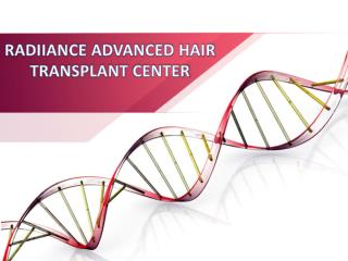 Best hair transplant surgeon in India | Radiance