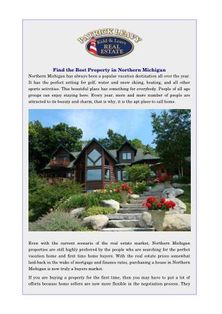 Northern Michigan Real Estate
