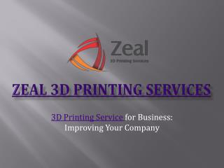 Latest technology in 3D Printing