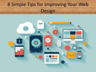 8 Simple Tips for Improving Your Web Design