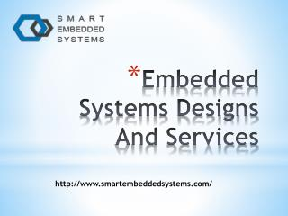 Embedded Systems Designs And Services- smartembeddedsystems.com- hart devices- ARM hardware design