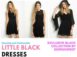 Exclusive black collection by Giorgiowest