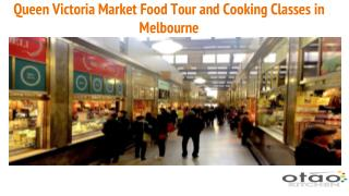 Queen Victoria Market Food Tour in Melbourne