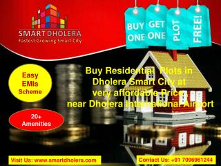 Book Plots near Dholera International Airport