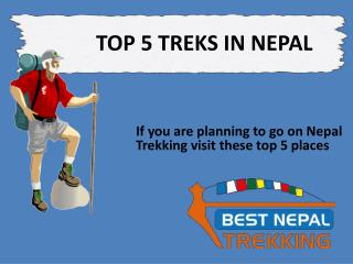 Top 5 Treks in Nepal