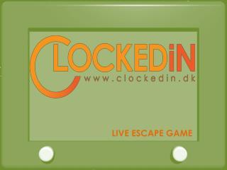 Live escape game københavn clockedin dk | Denmark