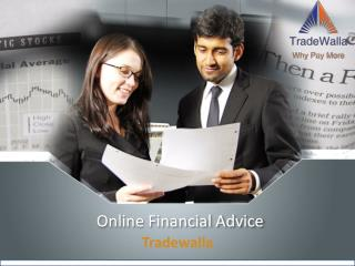 Online Financial Advice - Tradewalla