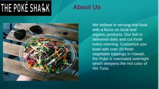 The Fresh Vegetable Toppings | The Poke Shack