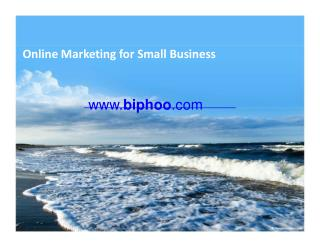 Online Marketing for Small Business in USA