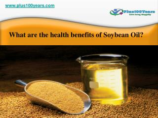 Top 5 health benefits of soybean oil