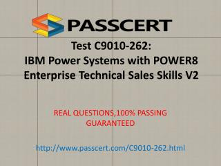 IBM C9010-262 exam questions and answers