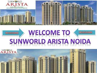 Sunworld arista resale studio apartment in noida sunworld arista resale yamuna expressway